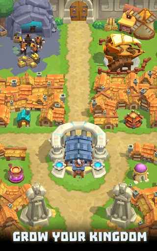 Wild Castle TD: Grow Empire Tower Defense in 2021 PC screenshot 3