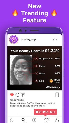 Greetify: Beauty Score pc screenshot 1