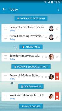 Wunderlist: To-Do List & Tasks PC screenshot 2