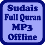 Sudais Full Quran MP3 Offline icon
