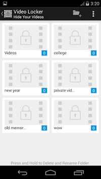 Vid Locker - Hide Videos pc screenshot 1