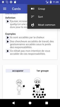 Conjugaison Française pc screenshot 1