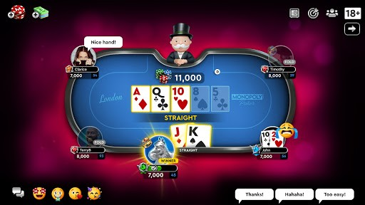 MONOPOLY Poker - The Official Texas Holdem Online PC screenshot 3
