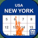 New York Calendar - Holiday & Note (Calendar 2021) icon
