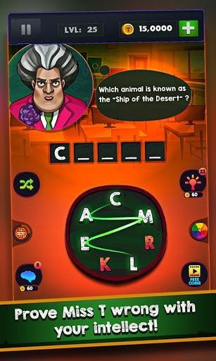 Scary Teacher : Addictive Word Game PC screenshot 3