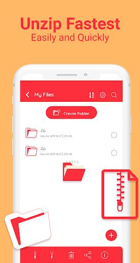 Zip File Opener - Zip File Manager pc screenshot 1