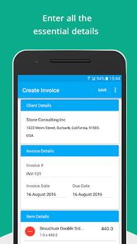 Free Invoice Generator pc screenshot 1