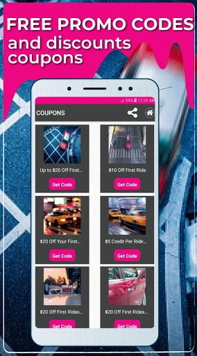 Promo Codes for Lyft PC screenshot 1