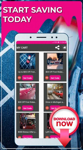 Promo Codes for Lyft PC screenshot 3
