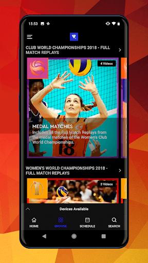 FIVB Volleyball TV - Streaming App pc screenshot 1