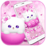 Kitty Theme Cup Cat Wallpaper icon