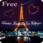 St Valentine Fireworks Live Wallpaper Free icon