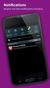 University of Phoenix Mobile pc screenshot 1