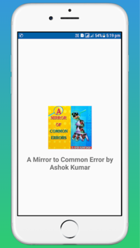 A Mirror of Common Error by Ashok Kumar OFFLINE pc screenshot 1