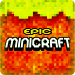 Epic MiniCraft Adventure Survival Games for pc logo