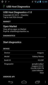 USB Host Diagnostics pc screenshot 1
