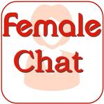 Female chat icon