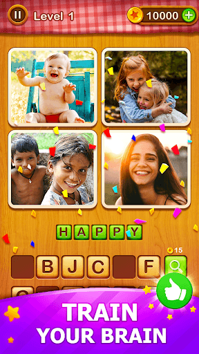 4 Pics Guess 1 Word - Word Games Puzzle PC screenshot 2