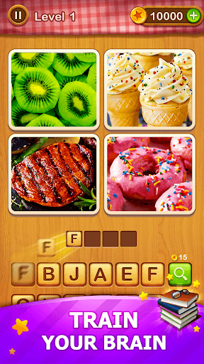 4 Pics Guess 1 Word - Word Games Puzzle PC screenshot 3