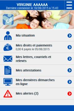 Caf - Mon Compte pc screenshot 1