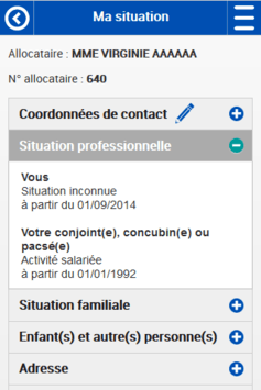 Caf - Mon Compte pc screenshot 2