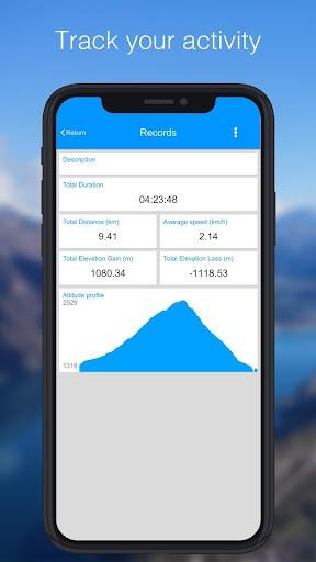 Relief Maps - 3D GPS Hiking | Trail Running | Ski PC screenshot 1