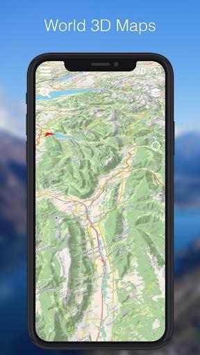 Relief Maps - 3D GPS Hiking | Trail Running | Ski PC screenshot 3