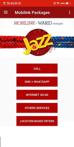 free call sms Pakistan mobile bundle packages app pc screenshot 1