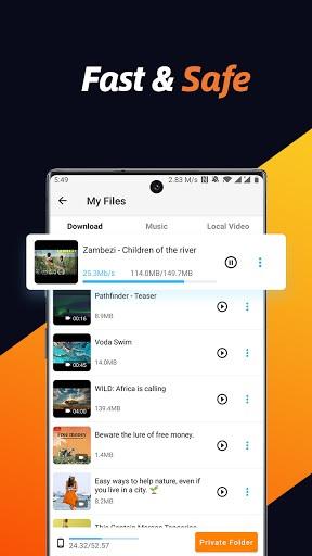 Video Downloader Free, All Downloader 2021 pc screenshot 1