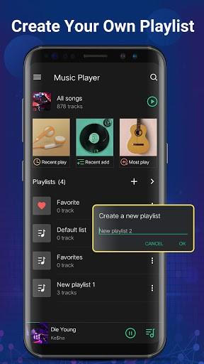 Music player - Mp3 player & Bass Booster pc screenshot 1