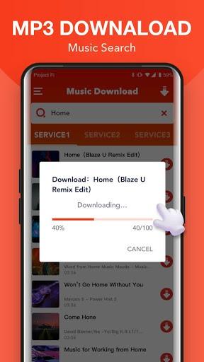 Free MP3 Sounds - Download MP3 Music pc screenshot 1
