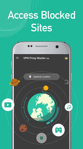 VPN Proxy Master lite - free&secure VPN proxy pc screenshot 1