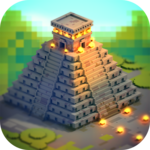 Aztec Craft: Ancient Blocky City Building Games icon