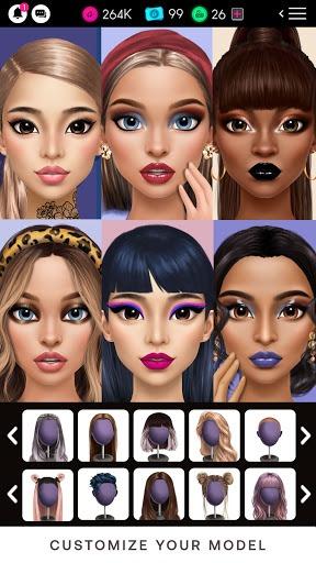 GLAMM'D - Style & Fashion Dress Up Game pc screenshot 1