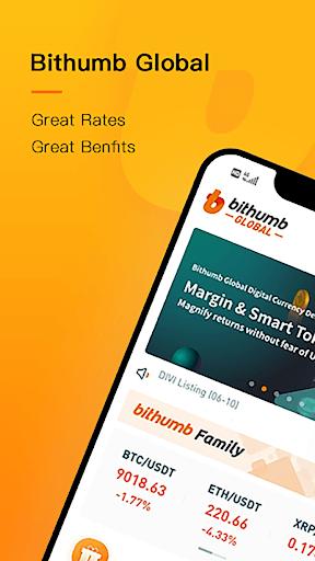 Bithumb Global-Bitcoin, crypto exchange  & wallet pc screenshot 1