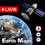 Live Earth Map 2021 : Satellite View, 3D World Map icon