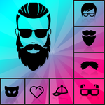 HairArt Beard Style Man Mustache Photo Editor icon