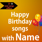 Happy Birthday songs with Name offline icon