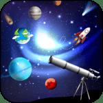 HD telescopes zoom photo and camera for pc logo