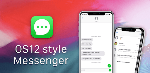 OS12 Messenger for SMS 2019 - Call app for PC Windows or MAC