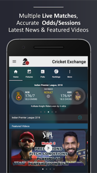 Cricket Exchange - Live Scores, News & More pc screenshot 1