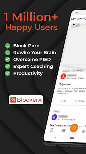 BlockerX - Porn Blocker,Quit Porn & Do Safe Search PC screenshot 1