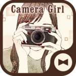 Wallpaper Camera Girl Theme icon