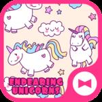 Cute Wallpaper Endearing UnicornsTheme icon