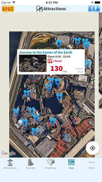 Guide for Tokyo Disney Resort by TDRAlert pc screenshot 2
