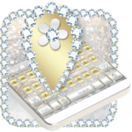 Luxury Gold & Silver Keyboard icon