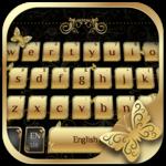 Golden Butterfly Keyboard icon