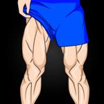 Leg Workouts - Lower Body Exercises for Men icon