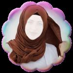 Hijab Photo Frames - V icon