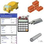 Construction Calculator(Concrete,Steel,Bricks etc) icon